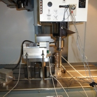 Accuracy measuring of machine tool spindle run